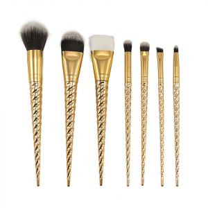Set 7 pensule machiaj Gold Unicorn Limited Edition
