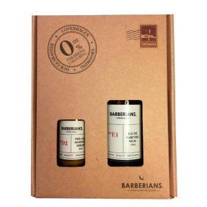 Set cadou apa de parfum 100ml + ser anti-age 30ml pentru barbati, Barberians