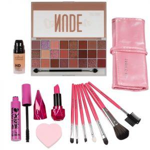 Set Machiaj Pretty Pink + CADOURI