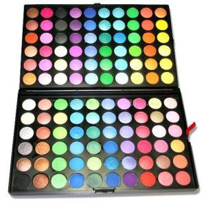 Trusa de Farduri 120 culori sidefate Rainbow Sever