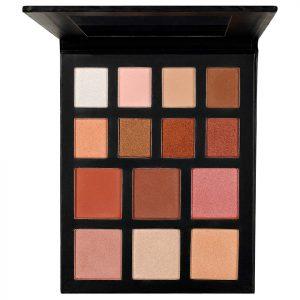 Trusa Farduri, Iluminator, Blush - Bronzed Shine Palette Kiss Beauty