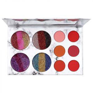 Trusa Farduri si Glitter Glamierre Rainbow Limited Edition